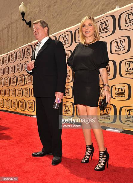 Actors Ryan O'Neal and Tatum O'Neal arrive at the 8th Annual TV Land Awards at Sony Studios on April 17 2010 in Los Angeles California