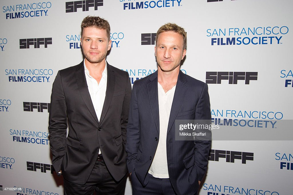 Actors Ryan Phillippe and Breckin Meyer arrive at the screening of '54: The Director's Cut' at 58th San Francisco International Film Festival at Castro Theater on April 24, 2015 in San Francisco, California.