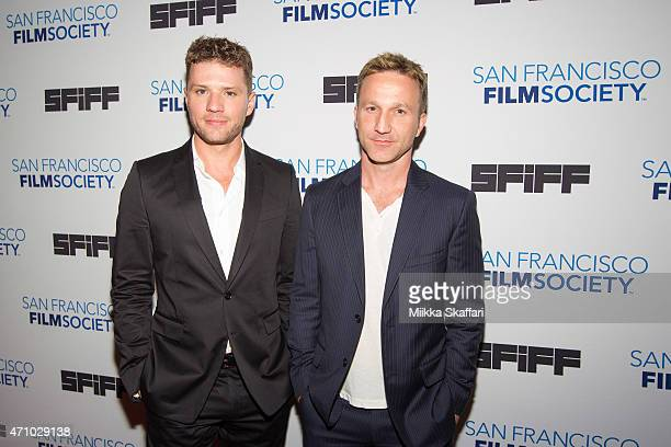 Actors Ryan Phillippe and Breckin Meyer arrive at the screening of '54 The Director's Cut' at 58th San Francisco International Film Festival at...