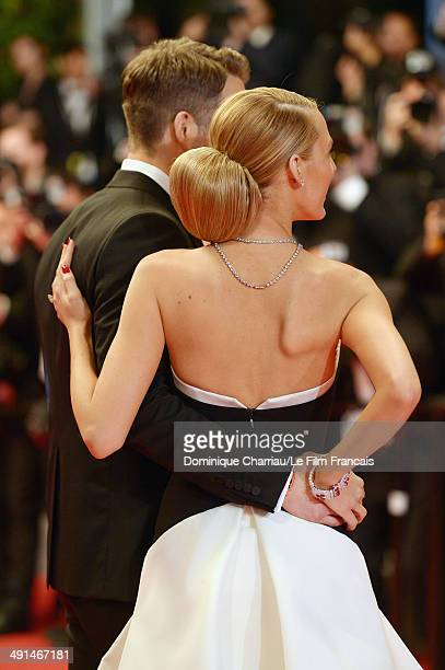 Actors Ryan Reynolds and Blake Lively attend the Captives Premiere at the 67th Annual Cannes Film Festival on May 16 2014 in Cannes France