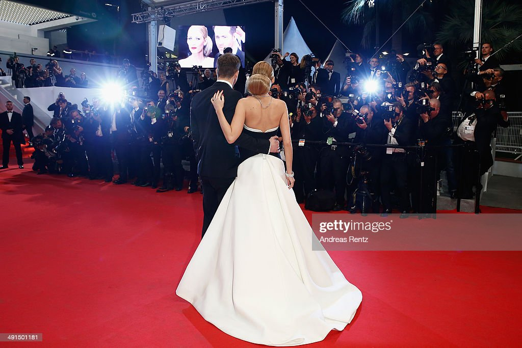 Actors Ryan Reynolds and Blake Lively attend the 'Captives' premiere during the 67th Annual Cannes Film Festival on May 16, 2014 in Cannes, France.