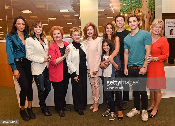 Actors Sal Stowers Lauren Koslow Maree Cheatham Peggy McCay Suzanne Rogers Lauren Boles Kristian Alfonso Billy Flynn James Lastovic and Mary Beth...