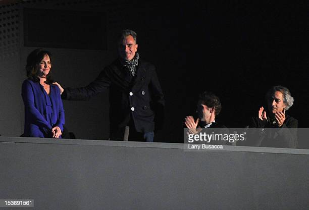 Actors Sally Field and Daniel DayLewis attend NYFF 50th Anniversary surprise screening of Lincoln at Alice Tully Hall on October 8 2012 in New York...
