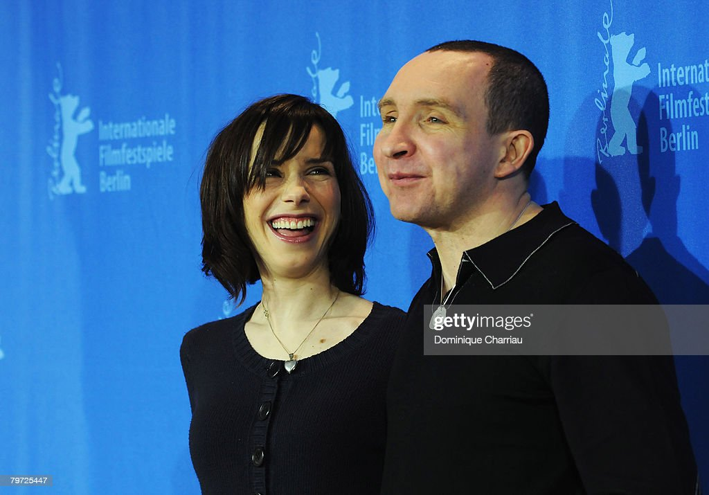 Actors Sally Hawkins and Eddie Marsan attend the 'Happy Go Lucky' photocall during day six of the 58th Berlinale International Film Festival held at the Grand Hyatt Hotel on February 12, 2008 in Berlin, Germany.