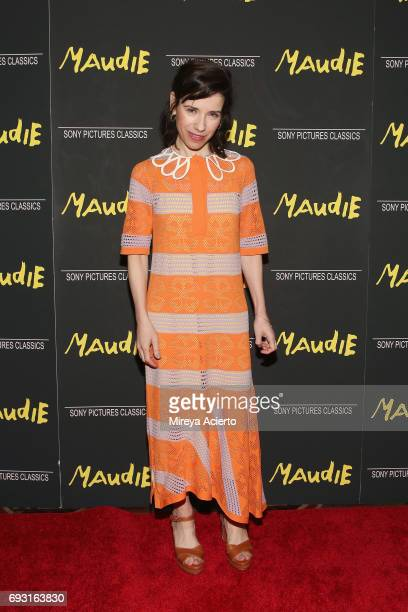 Actors Sally Hawkins attends the 'Maudie' New York screening at AMC Loews Lincoln Square on June 6 2017 in New York City