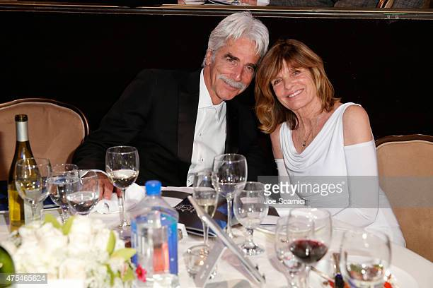 Actors Sam Elliott and Katherine Ross attend the 5th Annual Critics' Choice Television Awards at The Beverly Hilton Hotel on May 31, 2015 in Beverly...
