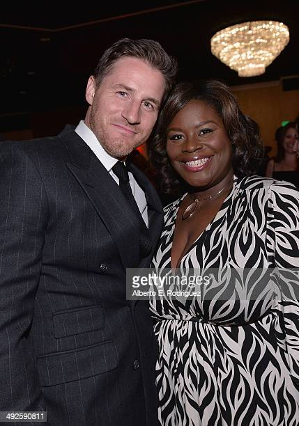 Actors Sam Jaeger and Retta attend the 39th Gracie Awards Gala at The Beverly Hilton Hotel on May 20 2014 in Beverly Hills California