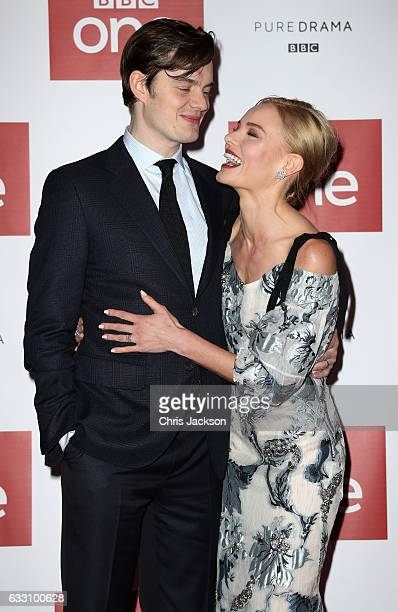 Actors Sam Riley and Kate Bosworth attend the photocall of the world premiere screening of BBC One drama SSGB on January 30 2017 in London United...