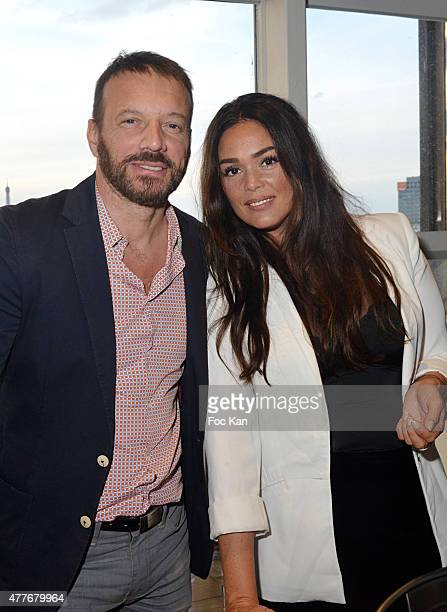 Actors Samuel Le Bihan and Lola Dewaere attend the 'Ma Terrazza' : Cocktail Party at the Electric Club on June 18, 2015 in Paris, France.