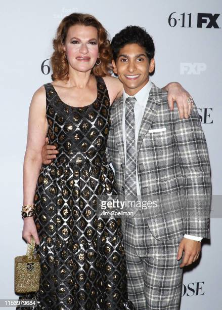 Actors Sandra Bernhard and Angel Bismark Curiel attend the FX Network's Pose Season 2 Premiere on June 05 2019 in New York City
