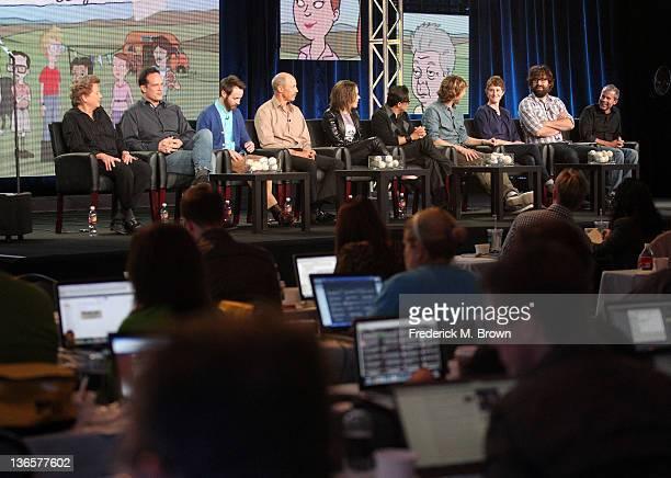 Actors Sandy Martin Diedrich Bader Aaron Ruell Jon Gries Tina Majorino Efren Ramirez Jon Heder creator/executive producers Jerusha Hess Jared Hess...