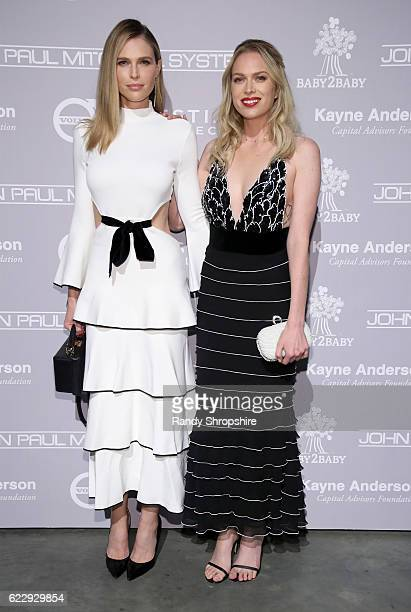 Actors Sara Foster and Erin Foster attend the Fifth Annual Baby2Baby Gala Presented By John Paul Mitchell Systems at 3LABS on November 12 2016 in...