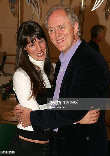 Actors Sara Gettlefinger and John Lithgow rehearse scenes from their new musical Dirty Rotten Scoundrels which will preview on January 31 on January...