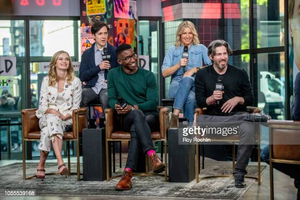 Actors Sara Paxton Josh Brener Mamoudou Athie Ari Graynor and director Jason Reitman discuss 'The Front Runner' with the Buld Series at Build Studio...