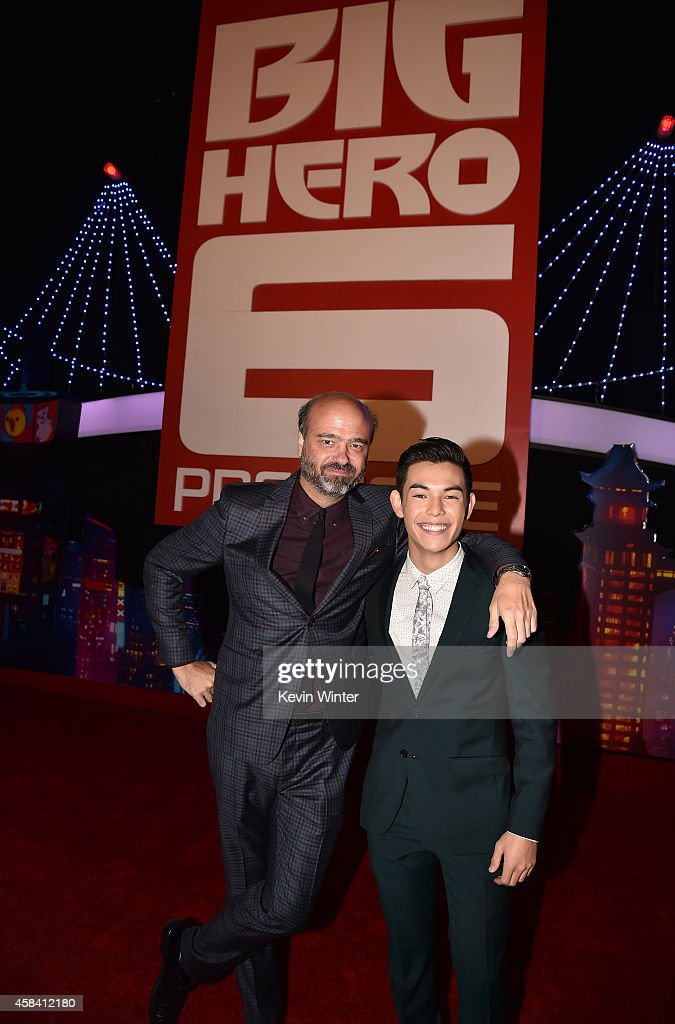 Premiere Of Disney's 'Big Hero 6' - Red Carpet : News Photo