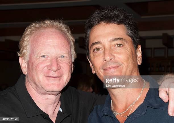 Actors Scott Baio and Don Most attend the Scott Baio 1st annual charity golf tournament benefiting The Bailey Baio Angel Foundation at Woodland Hills...