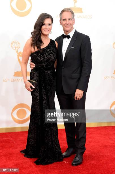 Actors Scott Bakula and Chelsea Field arrive at the 65th Annual Primetime Emmy Awards held at Nokia Theatre LA Live on September 22 2013 in Los...