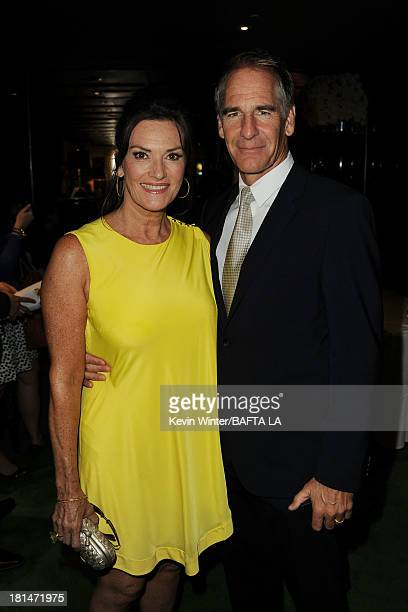 Actors Scott Bakula and Chelsea Field attend the BAFTA LA TV Tea 2013 presented by BBC America and Audi held at the SLS Hotel on September 21 2013 in...