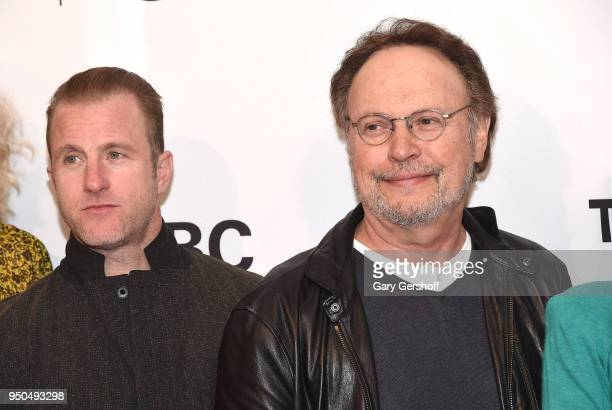 Actors Scott Caan and Billy Crystal attend the screening of 'Untogether' during the 2018 Tribeca Film Festival at SVA Theater on April 23 2018 in New...
