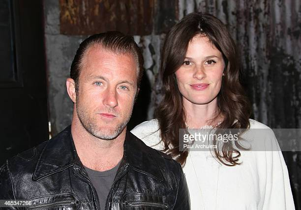 Actors Scott Caan and Kacy Byxbee attend the 2nd annual Hollywood Heals spotlight on Tourette Syndrome at House of Blues Sunset Strip on March 5 2015...