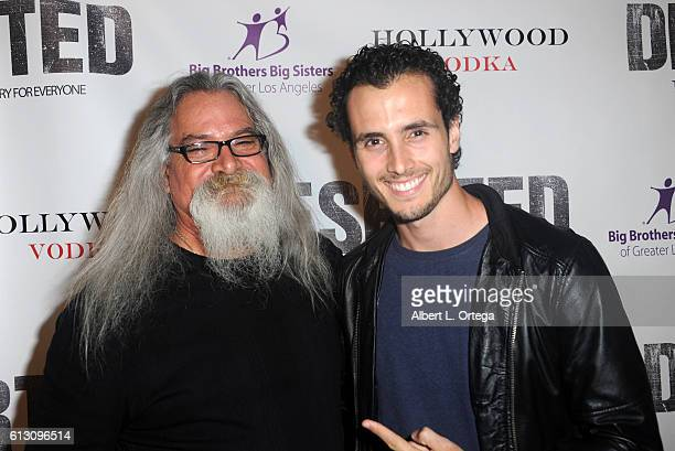 Actors Scott Engrotti and Ryan Walker arrive for the Premiere Of Winterstone Pictures' 'Deserted' held at Majestic Crest Theatre on October 6 2016 in...