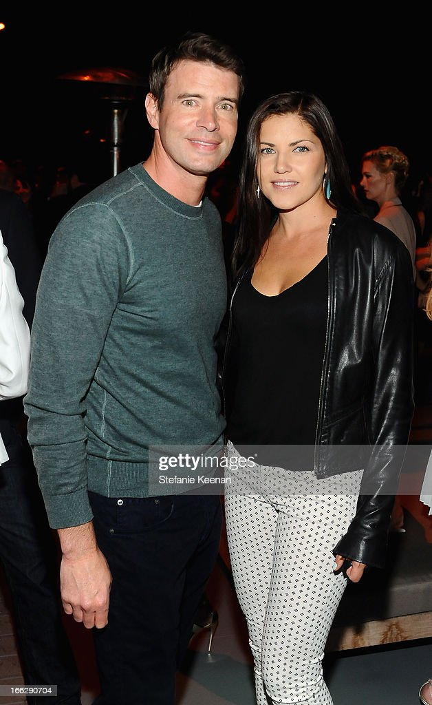 Actors Scott Foley and Marika Dominczyk attend Coach's 3rd Annual Evening of Cocktails and Shopping to Benefit the Children's Defense Fund hosted by Katie McGrath, J.J. Abrams and Bryan Burk at Bad Robot on April 10, 2013 in Santa Monica, California.