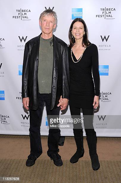 Actors Scott Glenn and Carol Schwartz attend the Tribeca Film Festival Awards hosted by the W Hotel Union Square at The W Hotel Union Square on April...