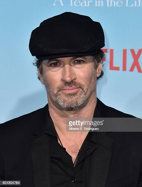 Actors Scott Patterson attends the premiere of Netflix's 'Gilmore Girls A Year In The Life' at the Regency Bruin Theatre on November 18 2016 in Los...