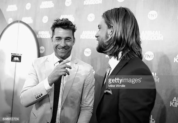 Actors Scott Speedman and Jake Weary attend the TNT 'Animal Kingdom' S1 Premiere on June 8 2016 in Venice California 26227_001