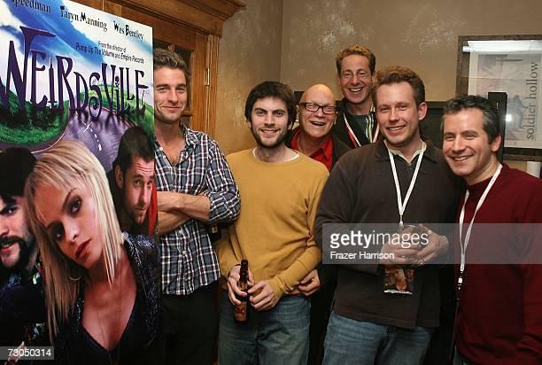 Actors Scott Speedman Wes Bentley director Allan Moyle executive producer Morris Ruskin writer Willem Wennekers and producer Nicholas Tabarrok attend...