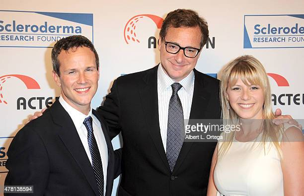 Actors Scott Weinger Bob Saget and Jodie Sweetin arrive for Cool Comedy Hot Cuisine To Benefit The Scleroderma Research Foundation held at the...