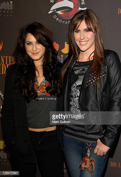 Actors Scout Taylor Compton and Lauren Summers attend The 2nd Annual Los Angeles Haunted Hayride at Griffith Park on October 10 2010 in Los Angeles...