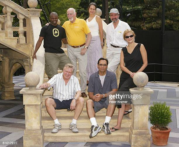 Actors Sean Patrick Thomas Dominic Chianese Elisabeth Waterston Sam Waterston Kristen Johnston Jimmy Smits and Brian Murray attend rehearsals of the...