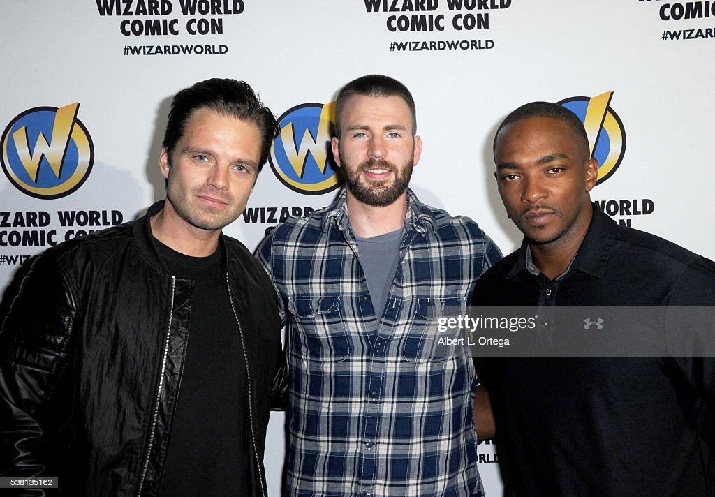 Wizard World Comic Con Philadelphia 2016 - Day 3 : Nieuwsfoto's
