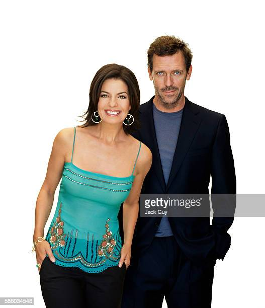 Actors Sela Ward and Hugh Laurie are photographed for TV Guide in 2005 COVER IMAGE
