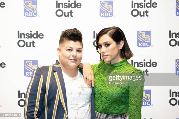 "Actors Ser Anzoategui and Mishel Prada attend 2019 Inside Out LGBT Film Festival - Screening Of ""Vida"" at TIFF Bell Lightbox on May 29, 2019 in..."