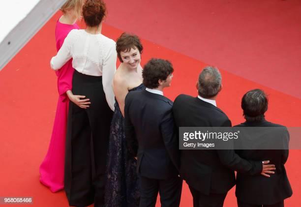 Actors Sergi Lopez David Bennent actress Alba Rohrwacher actor Adriano Tardiolo director Alice Rohrwacher and actress Nicoletta Braschi attend the...