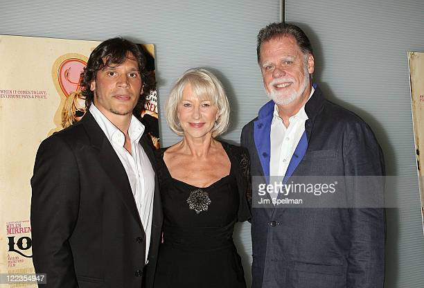 Actors Sergio Perismancheta Helen Mirren And Director Taylor Hackford Attend The Love Ranch Premiere