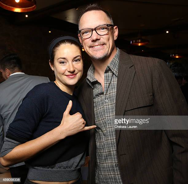 Actors Shailene Woodley and Matthew Lillard attend the Variety 10 producers to watch and indie impact presented by MercedesBenz at The Culinary...