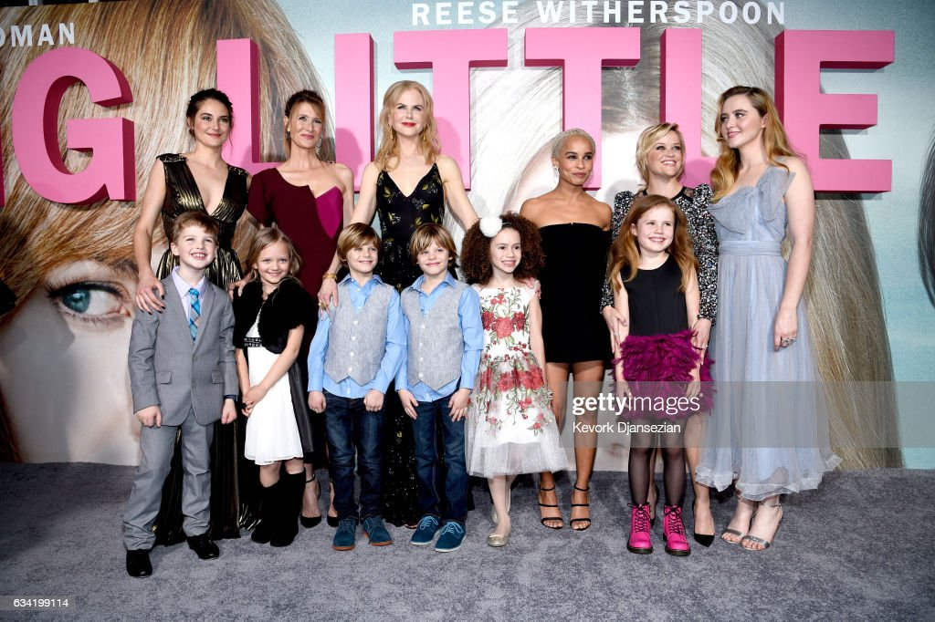 Premiere Of HBO's 'Big Little Lies' - Red Carpet : News Photo