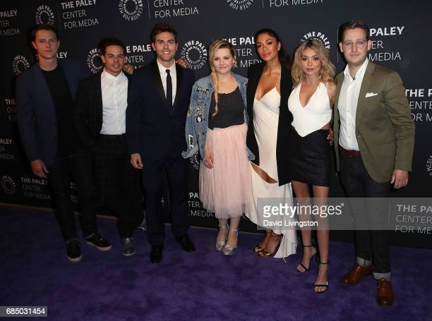 Actors Shane Harper Beau Casper Smart Colt Prattes Abigail Breslin Nicole Scherzinger Sarah Hyland and Trevor Einhorn attend the 2017 PaleyLive LA...