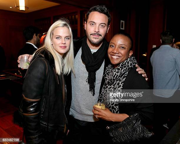 Actors Shannan Click Jack Huston and Global Director of Hardware Marketing at Google Deirdre Findlay attend Google Home x Sundance x Wanderluxxe...