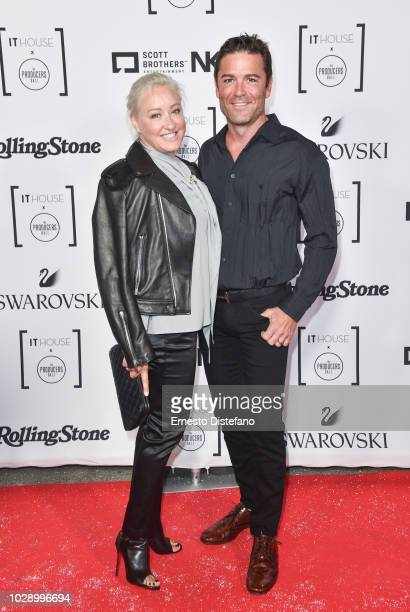 Actors Shantelle Bisson and Yannick Bisson attend the IT HOUSE x PRODUCERS BALL 2018 on September 7 2018 in Toronto Canada