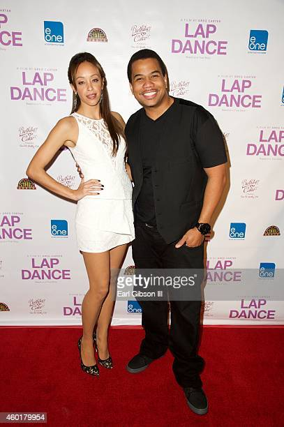 """Actors Shanti Lowry and Tommy Gooding attend the Los Angeles Premiere of the film """"Lap Dance"""" at ArcLight Cinemas on December 8, 2014 in Hollywood,..."""