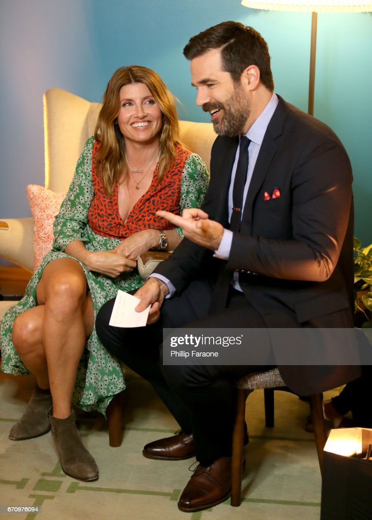 Actors Sharon Horgan and Rob Delaney attend the Amazon Studios Emmy For Your Consideration Event at Hollywood Athletic Club on April 20, 2017 in Hollywood, California.