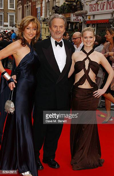 Actors Sharon Maughan husband Trevor Eve and daughter Alice Eve arrive at The Pioneer British Academy Television Awards ceremony at the Theatre Royal...