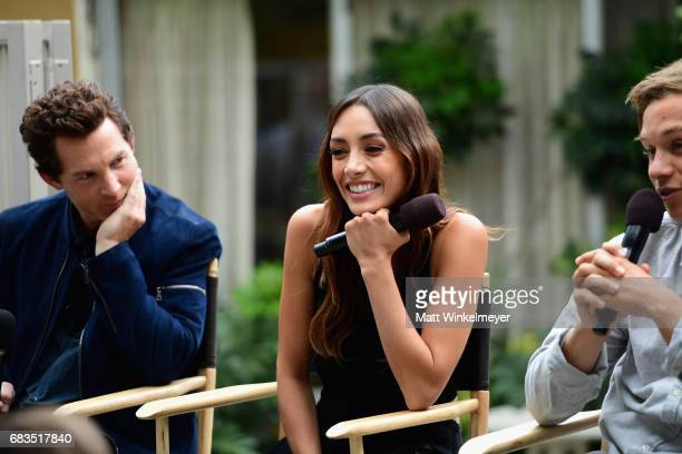 Actors Shawn Hatosy Carolina Guerra and Finn Cole at the Animal Kingdom Tacos and Tequila Event on May 15 2017 in Burbank California 27011_001