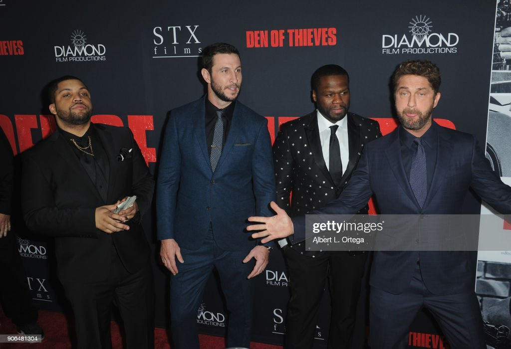 "Premiere Of STX Films' ""Den Of Thieves"" - Arrivals : News Photo"