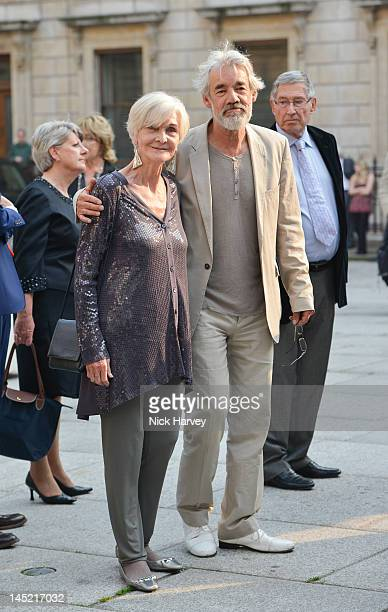 Actors Sheila Hancock and Roger LloydPack attend A Celebration of the Arts at Royal Academy of Arts on May 23 2012 in London England