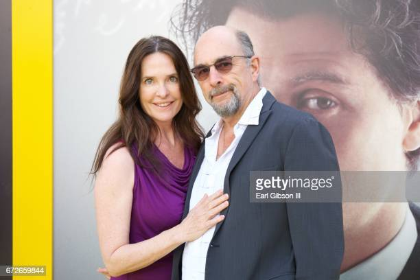 Actors Sheila Kelley and Richard Schiff attend the Premiere Of National Geographic's 'Genius' at Fox Bruin Theater on April 24 2017 in Los Angeles...